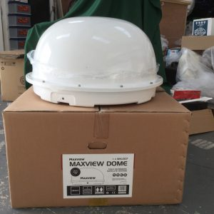 Satellite dome lid and base