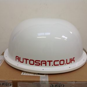 Satellite dome lid