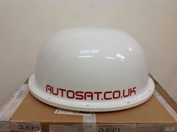 Satellite dome lid