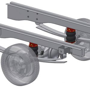 motorhome semi Air suspension assist